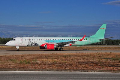 WindRose Aviation Company Embraer ERJ 190-200LR (ERJ 195) UR-WRG (msn 19000157) AYT (Ton Jochems). Image: 903462.