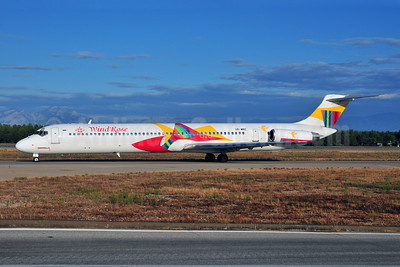 WindRose Aviation Company McDonnell Douglas DC-9-82 (MD-82) UR-WRE (msn 49278) AYT (Ton Jochems). Image: 903463.
