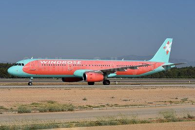 WindRose Aviation Company Airbus A321-231 UR-WRJ (msn 1869) AYT (Ton Jochems). Image: 946900.