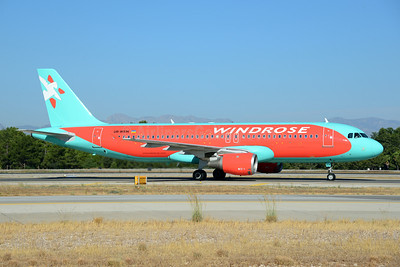 WindRose Aviation Company Airbus A320-212 UR-WRM (msn 645)  AYT (Ton Jochems). Image: 920865.