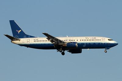 YanAir Boeing 737-4Y0 UR-CNP (msn 23980) (United Airlines colors) AYT (Andi Hiltl). Image: 933724.