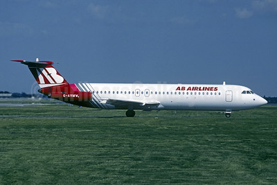 AB Airlines BAC 1-11 510ED G-AVMW (msn 150) (European colors) LGW (Christian Volpati Collection). Image: 951337.