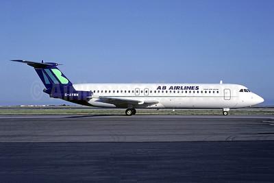 AB Airlines BAC 1-11 510ED G-AVMN (msn 334) CDG (Pepscl). Image: 951336.
