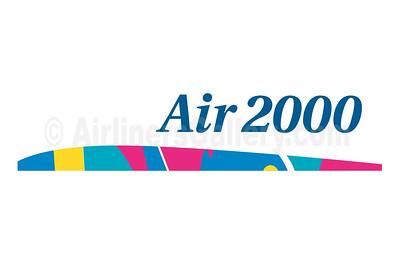 1. Air 2000 (UK) logo