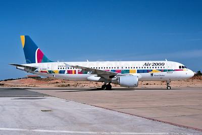 Air 2000 (UK) Airbus A320-214 G-OOAU (msn 1637) ACE (Ton Jochems). Image: 952971.