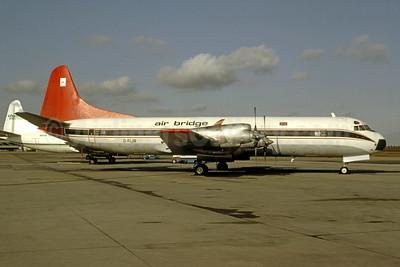Air Bridge Carriers Lockheed 188C (F) Electra G-FIJR (msn 1138) (Northwest Territorial Airways colors) (Bruce Drum Collection). Image: 950960.