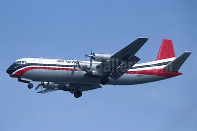 Air Bridge Carriers Vickers Vanguard 953C Merchantman G-APES (msn 721) LHR (Richard Vandervord). Image: 908901.