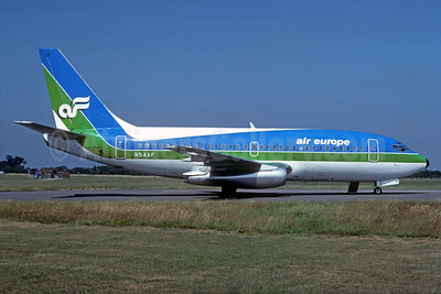 Leased from Air Florida as G-BJXM May 1, 1981