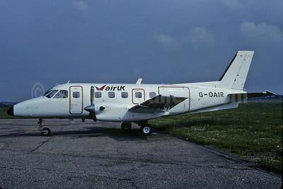 Air UK Embraer EMB-110P1 Bandeirante G-OAIR (msn 110222) (Richard Vandervord). Image: 909102.