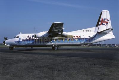 Air UK Fokker F.27 Mk. 600 G-BNIZ (msn 10405) (Richard Vandervord). Image: 909109.