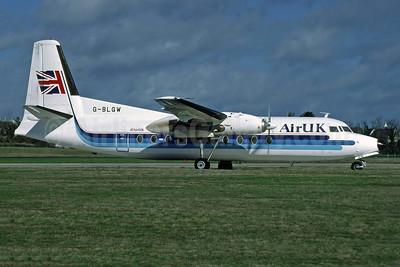 Air UK Fokker F.27 Mk. 200 G-BLGW (msn 10231) JER (Richard Vandervord). Image: 909106.