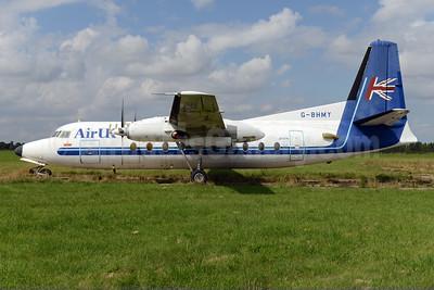 Air UK Fokker F.27 Mk. 200  G-BHMY (msn 10196) NWI (Ton Jochems). Image: 923922.