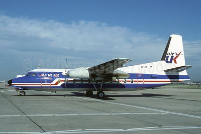 Air UK Fokker F.27 Mk. 200 G-BLML (msn 10135) (Richard Vandervord). Image: 909107.