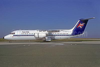 Air UK BAe 146-300 G-UKSC (msn E3125) CDG (Christian Volpati). Image: 940231.