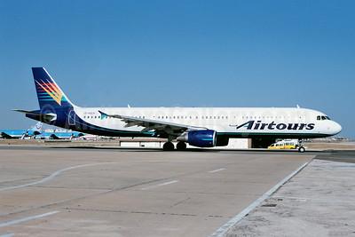 Airtours International Airways Airbus A321-211 G-VOLH (msn 823) FAO (Ton Jochems). Image: 953699.