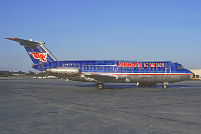 Airways Cymru BAC 1-11 304AX G-WLAD (msn 112) (Quebecair colors) PMI (Christian Volpati Collection). Image: 913584.