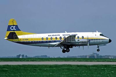 Alidair Scotland Vickers Viscount 735 G-BFMW (msn 67) JER (Richard Vandervord). Image: