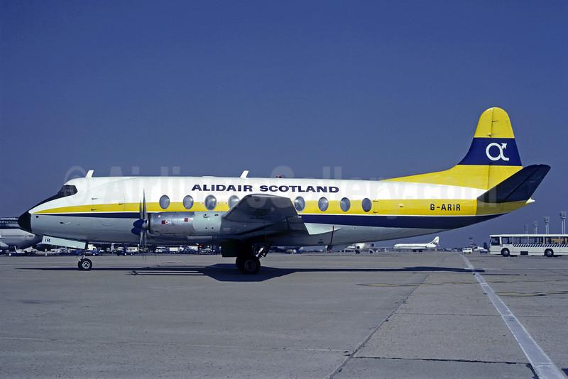 Alidair Scotland Vickers Viscount 708 G-ARIR (msn 36) ORY (Christian Volpati). Image: 908936.