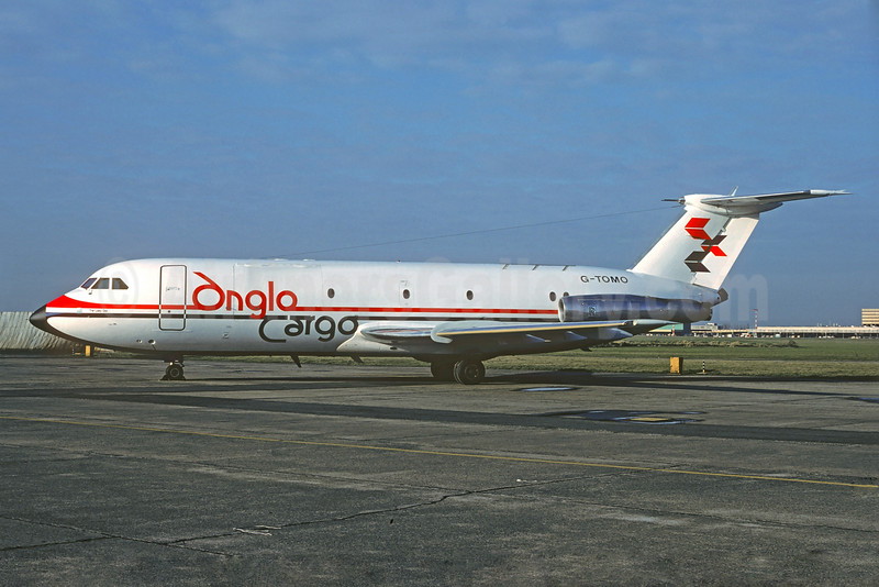 The only BAC One Eleven built as a freighter