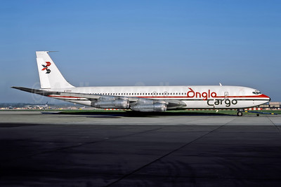 Anglo Cargo (Anglo Airlines) Boeing 707-338C G-BDEA (msn 19296) LGW (Rob Rindt Collection). Image: 947913.