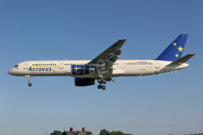 Astraeus Airlines Boeing 757-28A G-OOOB (msn 23822) SEN (Keith Burton). Image: 920184.