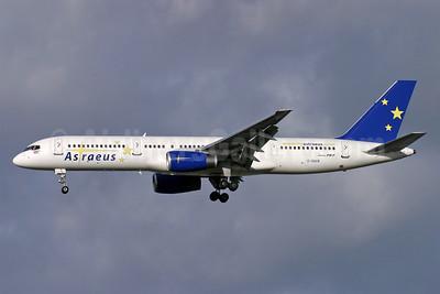 Astraeus Airlines Boeing 757-23A G-OAVB (msn 24289) LGW (Antony J. Best). Image: 940600.