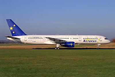 Astraeus Airlines Boeing 757-28A G-OOOB (msn 23822) SEN (Keith Burton). Image: 900342.