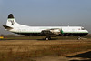 Atlantic Airlines (UK) Lockheed 188C (F) Electra G-LOFE (msn 1144) STN (Pedro Pics). Image: 911920.