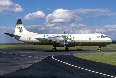 Atlantic Airlines (UK) Lockheed 188C (F) Electra G-FIJR (msn 1138) CGN (Christian Volpati Collection). Image: 936448.
