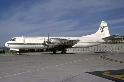 Atlantic Cargo (Atlantic Airlines UK) Lockheed 188C (F) Electra G-LOFB (msn 1131) MRS (Pepscl). Image: 950953.