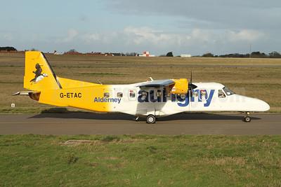 Aurigny Air Services Dornier 228-212 G-ETAC (msn 8392) GCI (Nick Dean). Image: 945131.