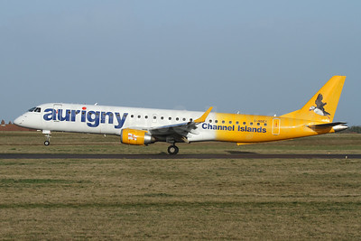 Aurigny Air Services Embraer ERJ 190-200 (ERJ 195) G-NSEY (msn 19000671) GCI (Nick Dean). Image: 948768.