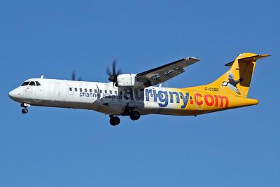 Aurigny Air Services (Aurigny.com) ATR 72-212A (ATR 72-500) G-COBO (msn 852) LGW (Keith Burton). Image: 927863.
