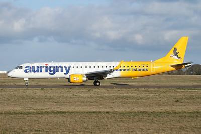 Aurigny Air Services Embraer ERJ 190-200 (ERJ 195) G-NSEY (msn 19000671) GCI (Nick Dean). Image: 945158.