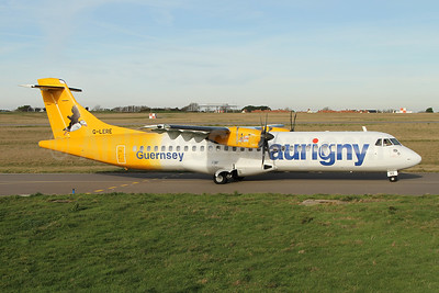Aurigny Air Services ATR 72-212A (ATR 72-500) G-LERE (msn 891) GCI (Nick Dean). Image: 945156.