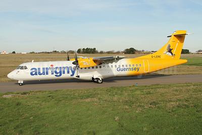 Aurigny Air Services ATR 72-212A (ATR 72-500) G-LERE (msn 891) GCI (Nick Dean). Image: 945155.