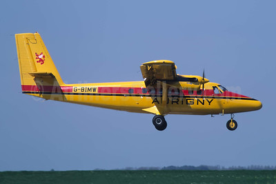 Aurigny Air Services de Havilland Canada DHC-6-300 Twin Otter G-BIMW (msn 740) JER (Richard Vandervord). Image: 949001.