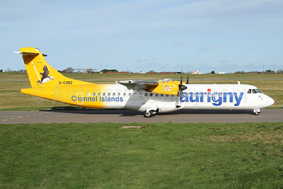 Aurigny Air Services - Channel Islands ATR 72-212A (ATR 72-500) G-COBO (msn 852) GCI (Nick Dean). Image: 940472.