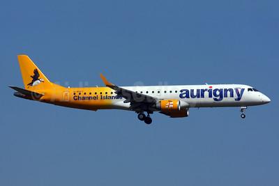 Aurigny Air Services (Aurigny.com) Embraer ERJ 190-200 (ERJ 195) G-NSEY (msn 19000671) LGW (SPA). Image: 932563.