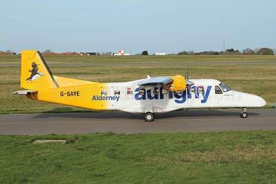 Aurigny Air Services Dornier 228-202 G-SAYE (msn 8046) GCI (Nick Dean). Image: 940451.