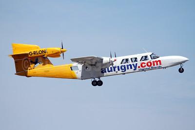 Aurigny Air Services (Aurigny.com) Britten-Norman BN-2A Mk. 3-2 Trislander G-RLON (msn 1008) GCI (Nick Dean). Image: 928402.
