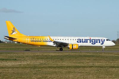 Aurigny Air Services Embraer ERJ 190-200 (ERJ 195) G-NSEY (msn 19000671) GCI (Nick Dean). Image: 928399.