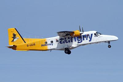 Aurigny Air Services Dornier 228-202 G-LGIS (msn 8160) GCI (Nick Dean). Image: 942923.