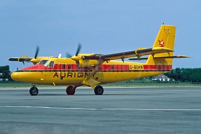 Aurigny Air Services de Havilland Canada DHC-6-300 Twin Otter G-BIMW (msn 740) JER (Richard Vandervord). Image: 949000.