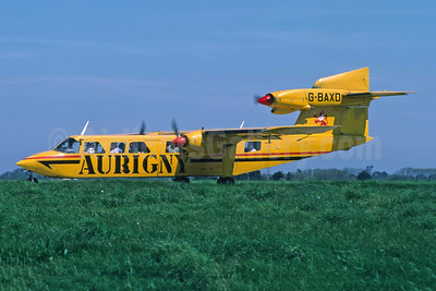 Aurigny Air Services Britten-Norman BN-2A Mk. 3-2 Trislander G-BAXD (msn 350) JER (Richard Vandervord). Image: 948998.