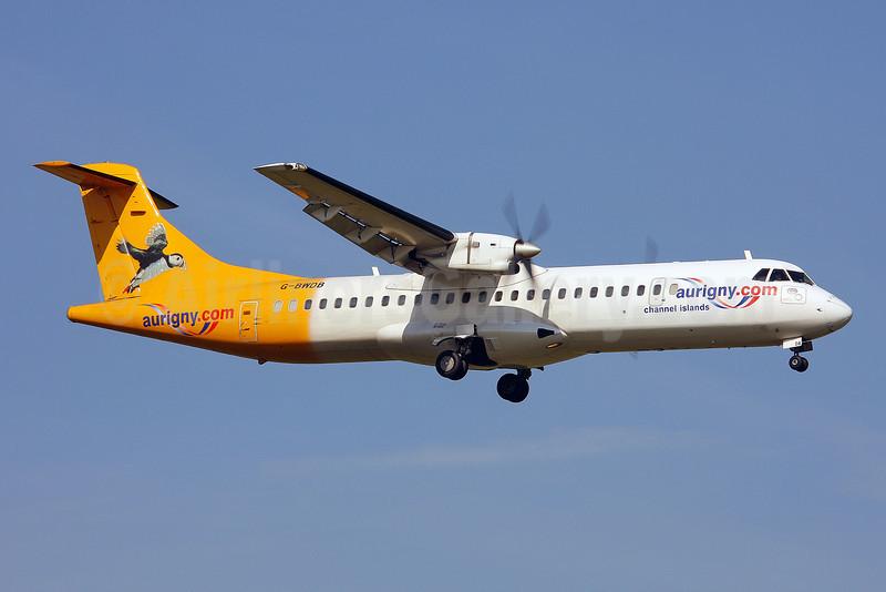 Aurigny Air Services (Aurigny.com) ATR 72-202 G-BWDB (msn 449) LGW (Keith Burton). Image: 901368.