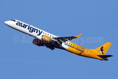 Aurigny Air Services (Aurigny.com) Embraer ERJ 190-200 (ERJ 195) G-NSEY (msn 19000671) LGW (SPA). Image: 945488.
