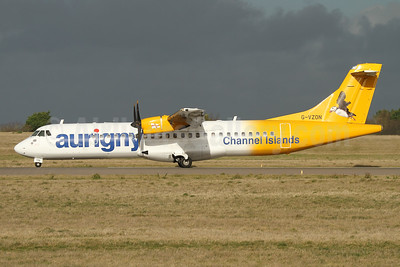 Aurigny Air Services - Channel Islands ATR 72-212A (ATR 72-500) G-VZON (msn 853) GCI (Nick Dean). Image: 945132.