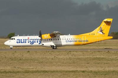 Aurigny Air Services - Channel Islands ATR 72-212A (ATR 72-500) G-VZON (msn 853) GCI (Nick Dean). Image: 945132.