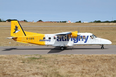 Aurigny Air Services Dornier 228-202 G-LGIS (msn 8160) GCI (Nick Dean). Image: 942922.